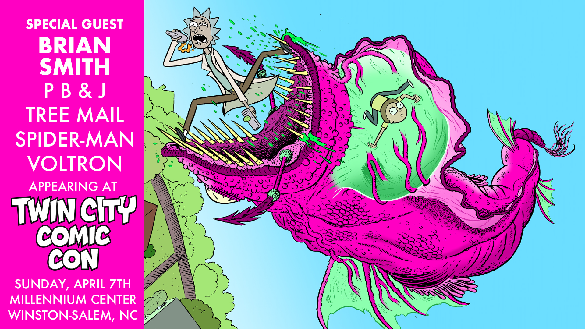 Twin City Comic Con — SSALEFISH COMICS