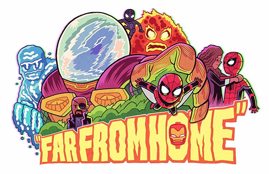 I would love a coffee table book of  Dan Hipp 's Marvel Cinematic Universe pieces, but since he works on Teen Titans Go that probably won't happen anytime soon, but he  does  have a variant for Amazing Spider-man #25 coming out, so maybe that isn't such a crazy idea after all!