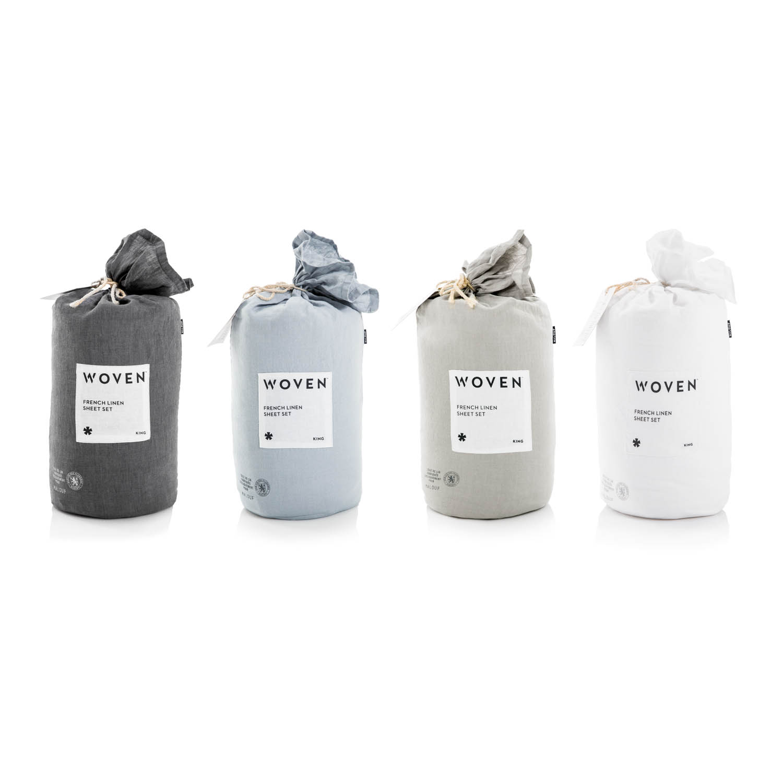 White, Smoke, Flax, and Charcoal