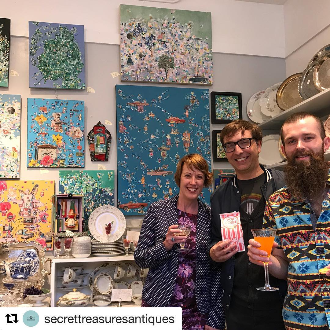 Kristen Neveu at Secret Treasures, 605 Dempster St, Evanston, IL 60201