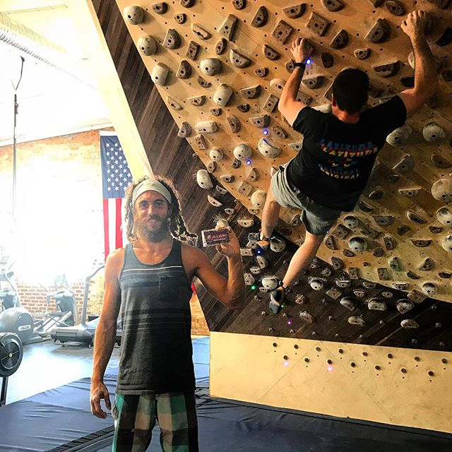 If you haven't yet been to @latitudeclimbing in Norfolk, VA, you NEED to go! #climbing #climb #gym #gymmotivation #workout #healthy #yummy #healthyeating #healthyliving #delicious #healthyfood #energy #fitness #fit #exercise #local #natural #snack #yum #virginia #norfolk #757 #virginiabeach #earth #outdoors #outdoorliving #explore #gymlife #gymrat #happiness
