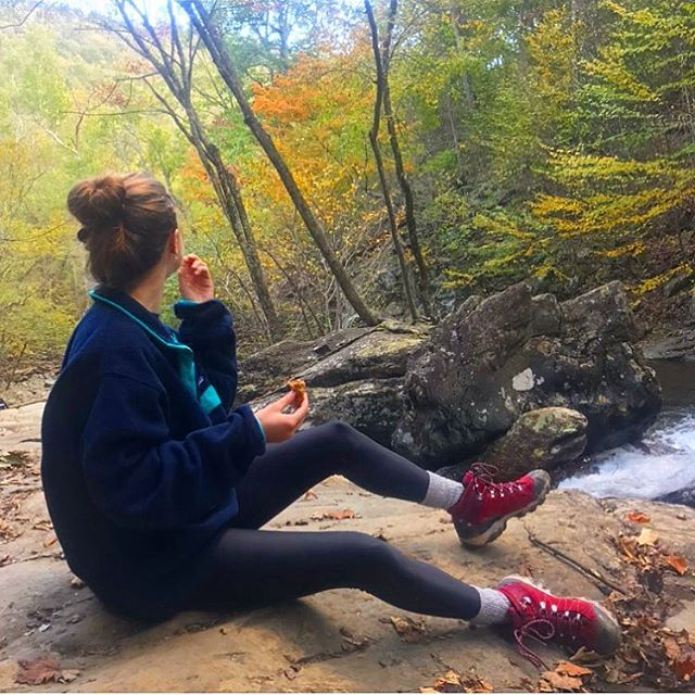Where does Ohelyeah take you? #explore #nature #adventure #fall #leaves #shenandoahnationalpark #hiking #hikingadventures #hike #virginia #nutrition #snack #healthysnack #healthyfood #healthyeating #healthylifestyle #vegan #veganfood #outdoors #mountains #goodvibes #happy #falltime #delicious #tasty #granola #energybars #energy #waterfall #greatoutdoors