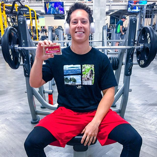 Get pumped for the gym with an Ohelyeah! #gym #nutrition #allnatural #gymlife #oatmeal #energy #energybar #training #snack #nutrition #fit #fitness #yum #delicious #tasty #natural #biodegradeblewrappers #healthy #health #healthydiet #healthminded #workout #weightlifting #powerbar #energybar #sweet #homemade #757 #virginiabeach #local