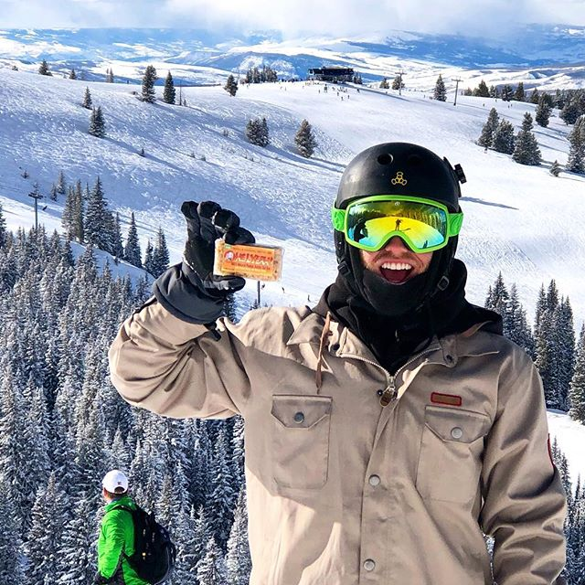 Ohelyeah! We'll see you out there! #snowboarding #healthysnacks #healthyeating #adventure #snow #colorado #outdoors #slopes #fun #winter #rad #skiing #healthyfood #healthylifestyle #health #healthy #yummy #yum #delicious #snack #active #awesome #adventuretime #wintersports #mountains #snowy #mountain #rockymountains #snowday #snowsports