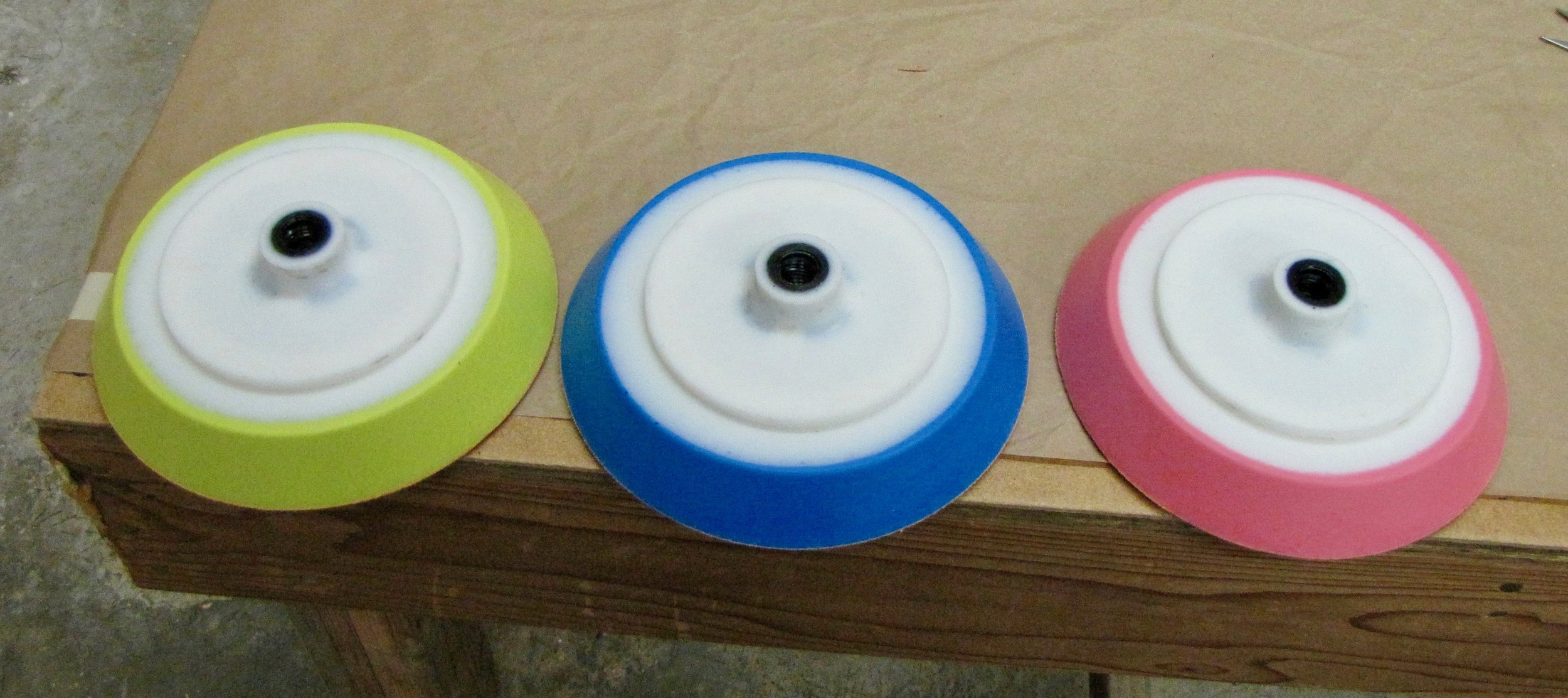 The very first white top FLEXPADS 2009