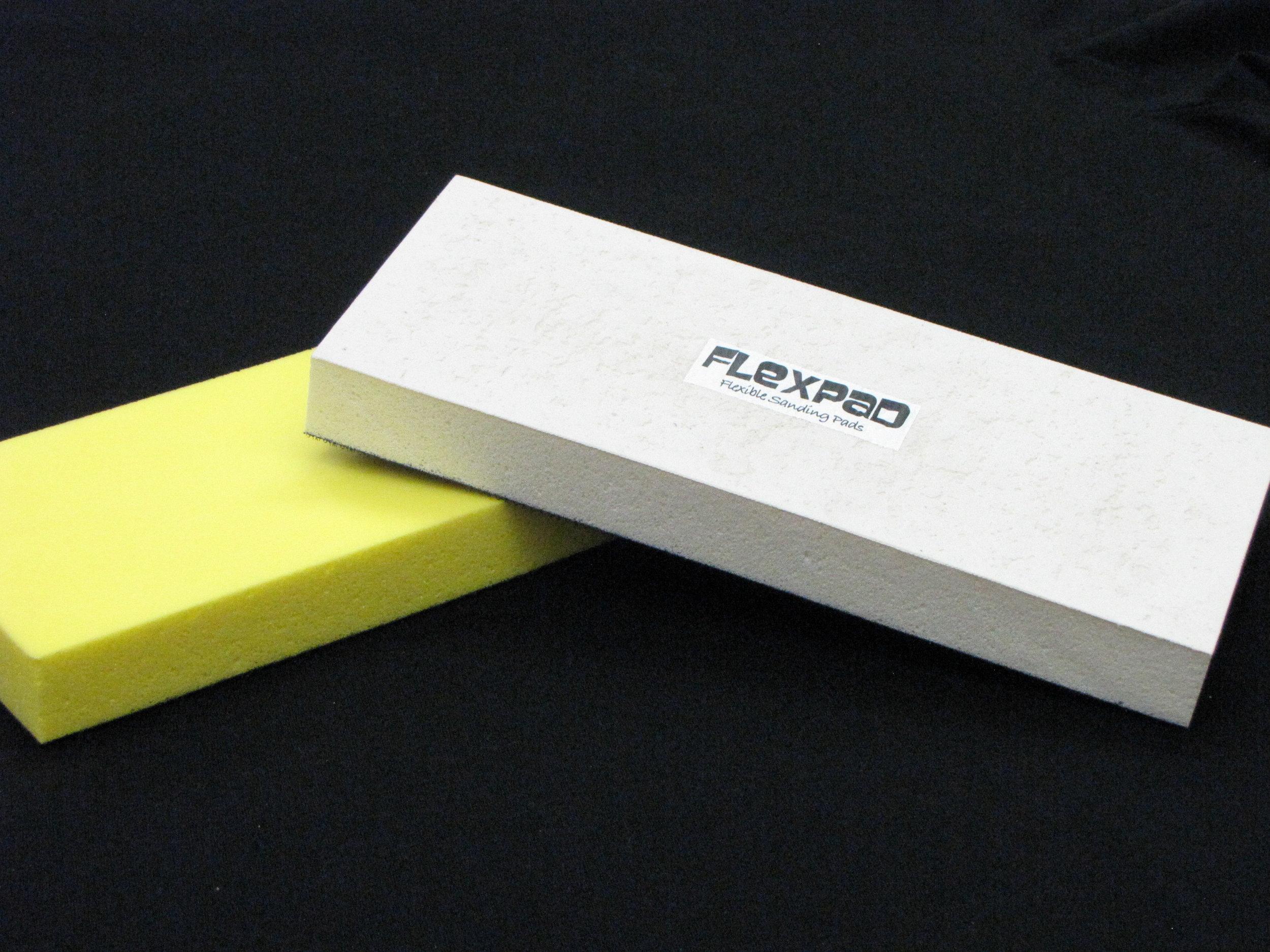 WHITE/HARD and YELLOW/SOFT Velcro shaping block