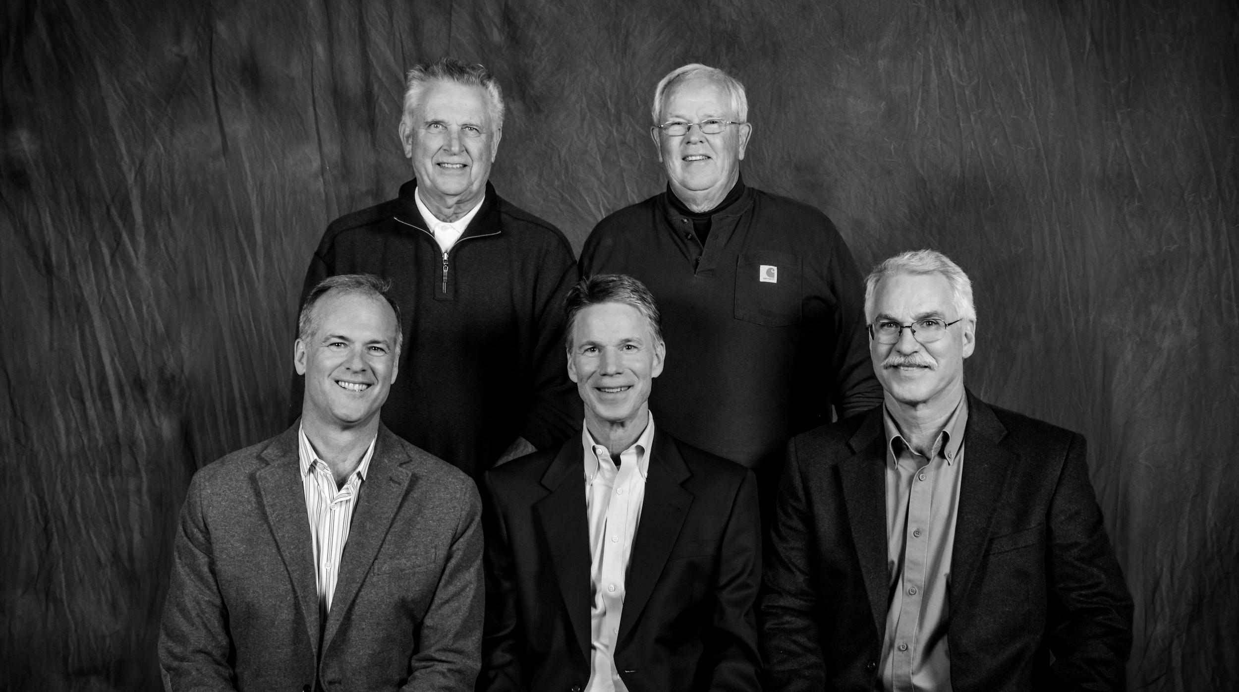 Back Row - Left to Right: Lee Stirrett, Brian Johnsen; Front Row - Left to Right: Steve Stirrett, Sean Sullivan, Steve Sullivan