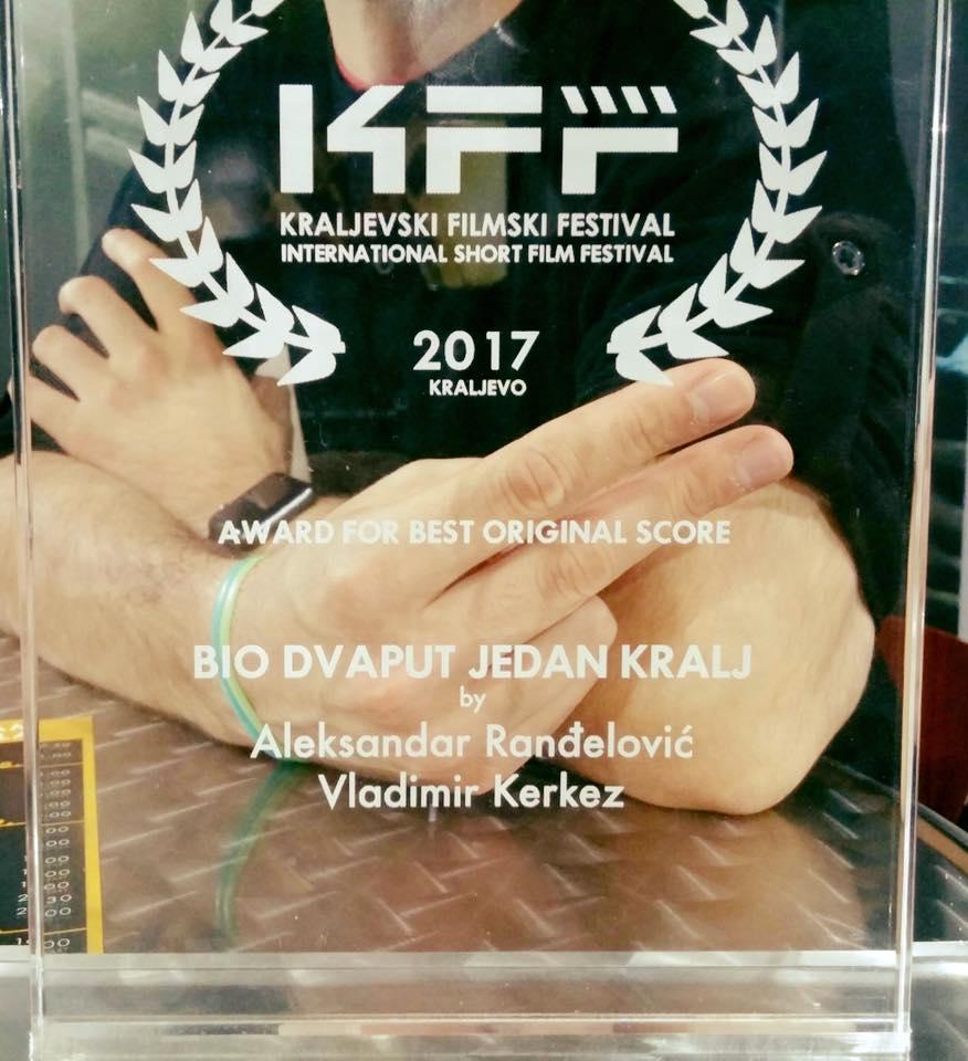 Kraljevo, Serbia: Award for best original score
