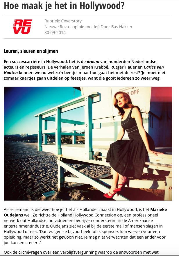 Nieuwe Revu Magazine