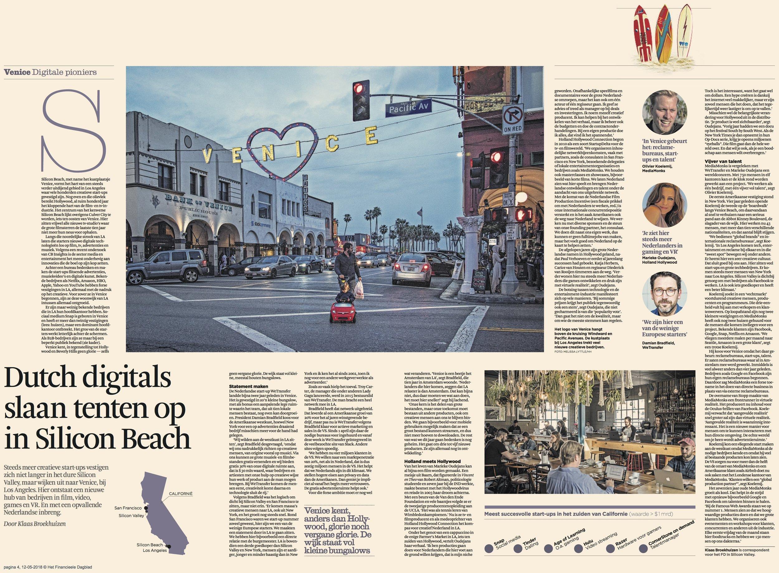 Dutch Financial Daily - May 2018