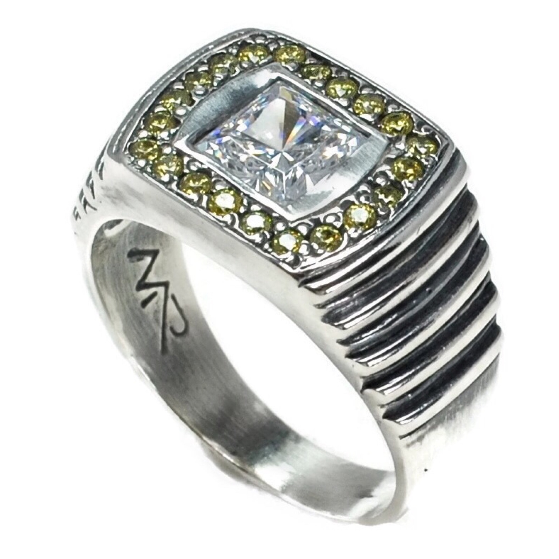 Citine and Emerald Cut Crystal Step Side RIng 12.JPG