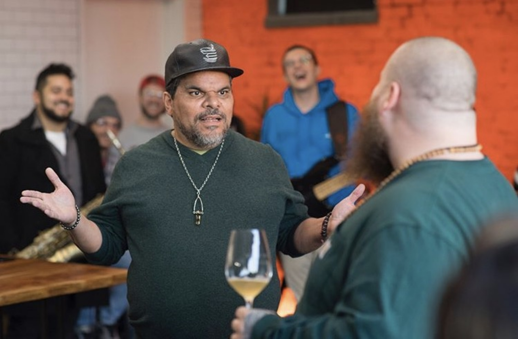 Luis Guzman with Action Bronson, Viceland