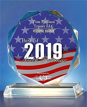 "Awarded ""Best Fitness Business"" North Potomac 2019!"