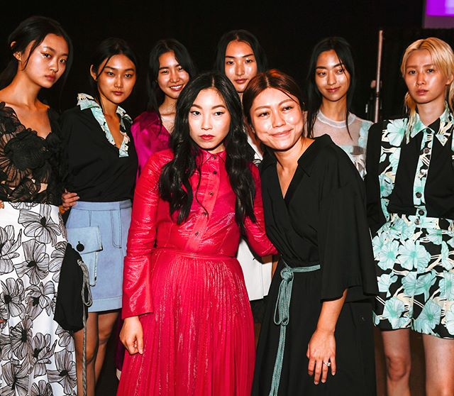 #NYFW was a dream, and I was so happy to attend game changer @claudia_li_official 's historic show with a line-up of all Asian models.  @kirinstagram @josueperezhair  @avoyermagyan @claudia_li_official
