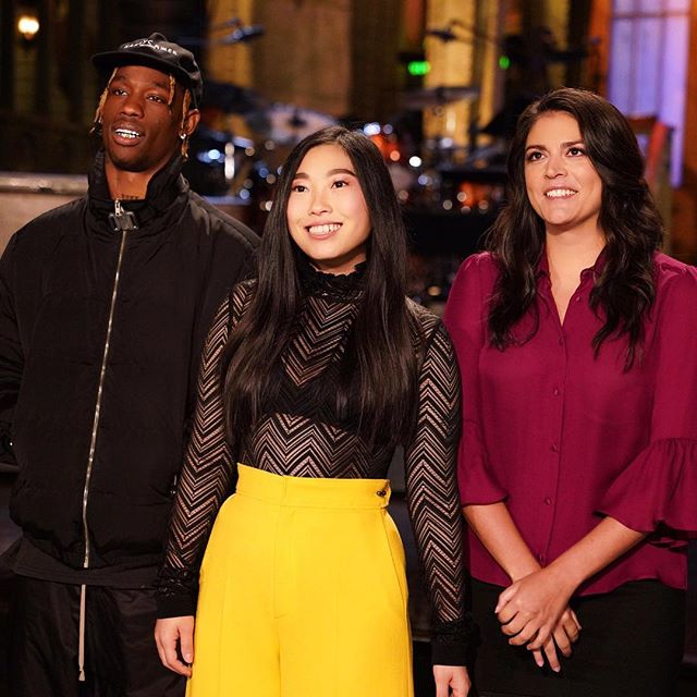 Tonight, live from New York, watch a girl live a dream. With musical guest @travisscott on @nbcsnl  To my team: @itsmatin @josueperezhair @avoyermagyan in @roland_mouret