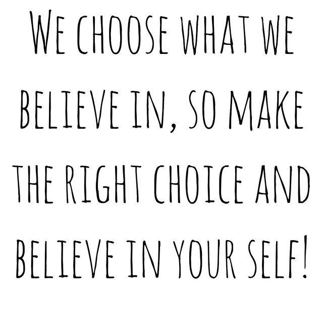 I believe in ME! • • • #believeinyourself