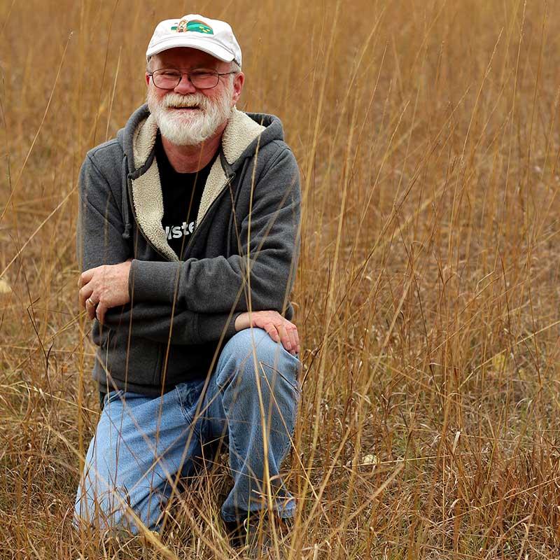 John Morgan   For 30 years, John has been saving Manitoba's prairies, having started Canada's first prairie restoration business.