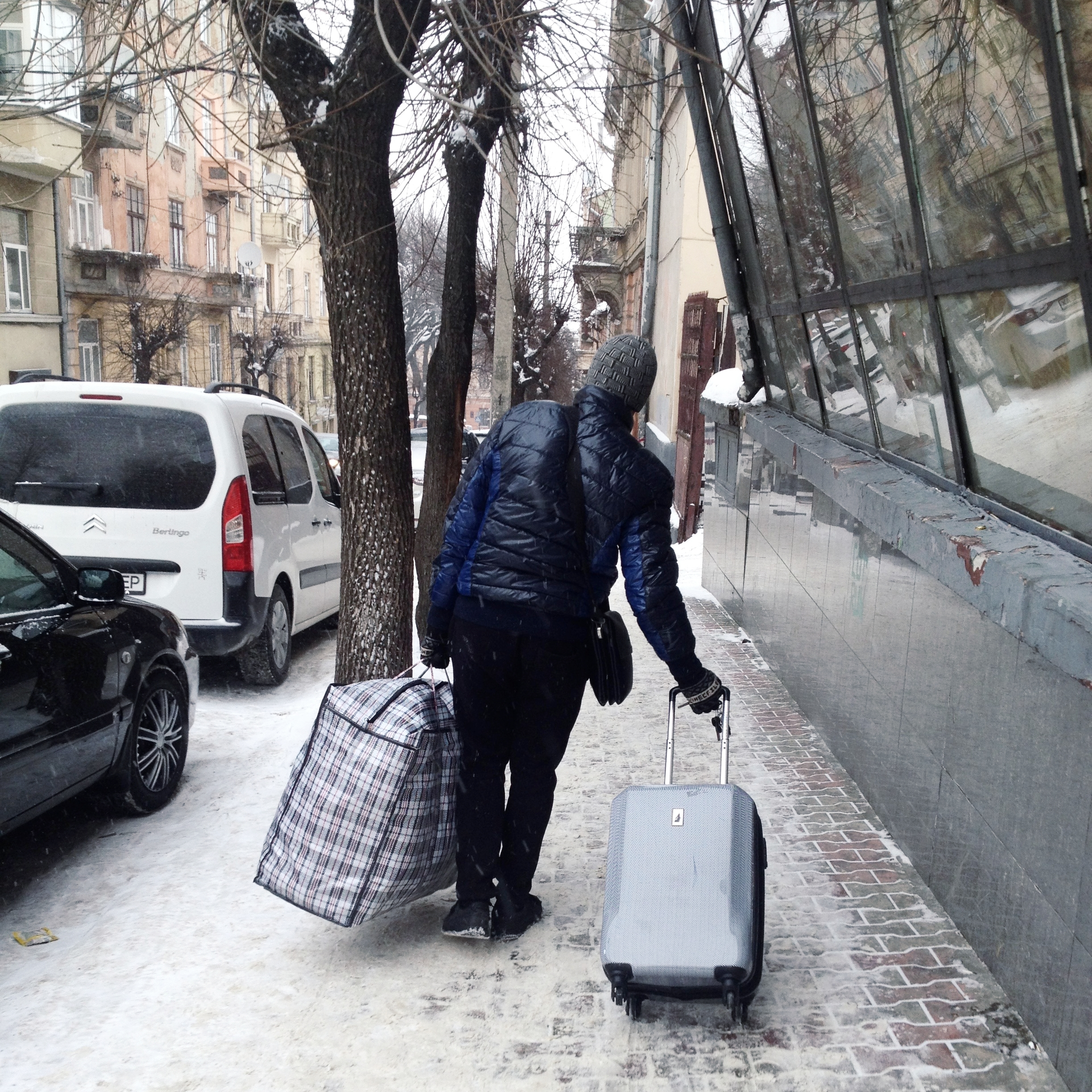 So long for now, Chernivtsi. Big thanks to Roman for managing to carry one of my infamous Ukrainian plaid bags that I filled with a surprising number of items.
