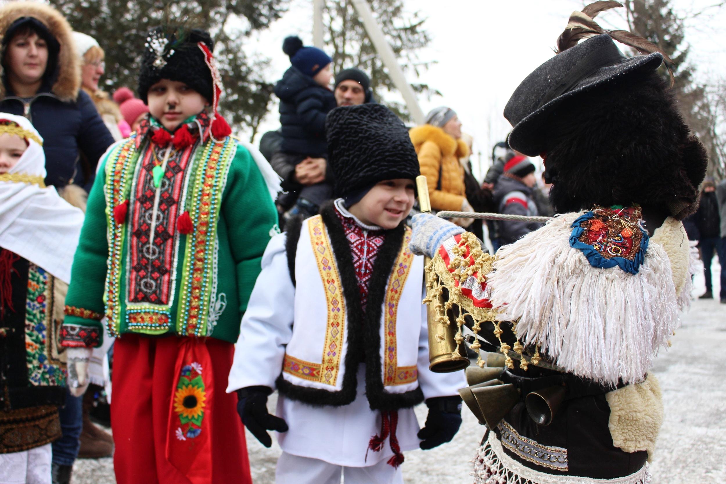 Malanka in Vashkivtsi and Chernivtsi