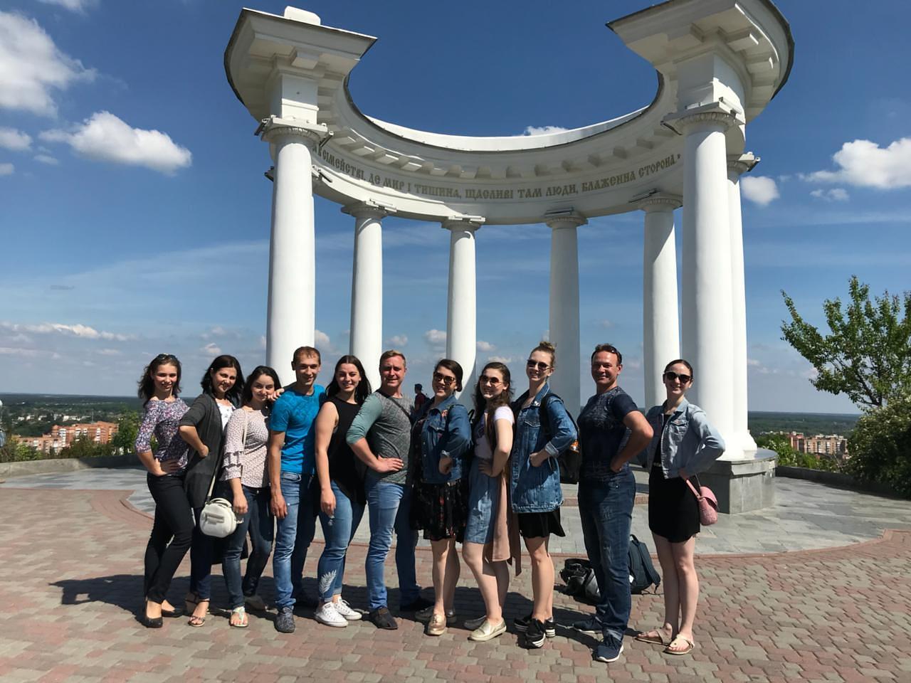 The Rotunda of Friendship with the Poltava Ensemble.