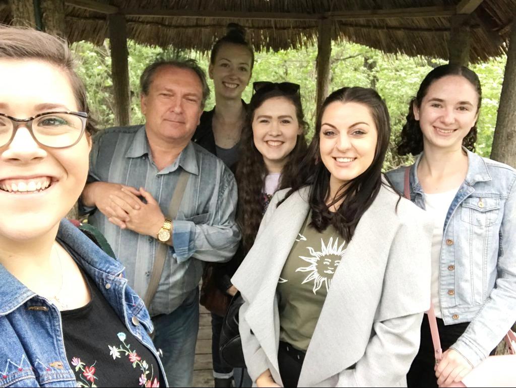 Pan Poltava and his princesses.