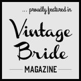 Gathering Events - Vintage - Wedding - Caravan Bar - Pop Up Bar -  Vintage Bride Magazine