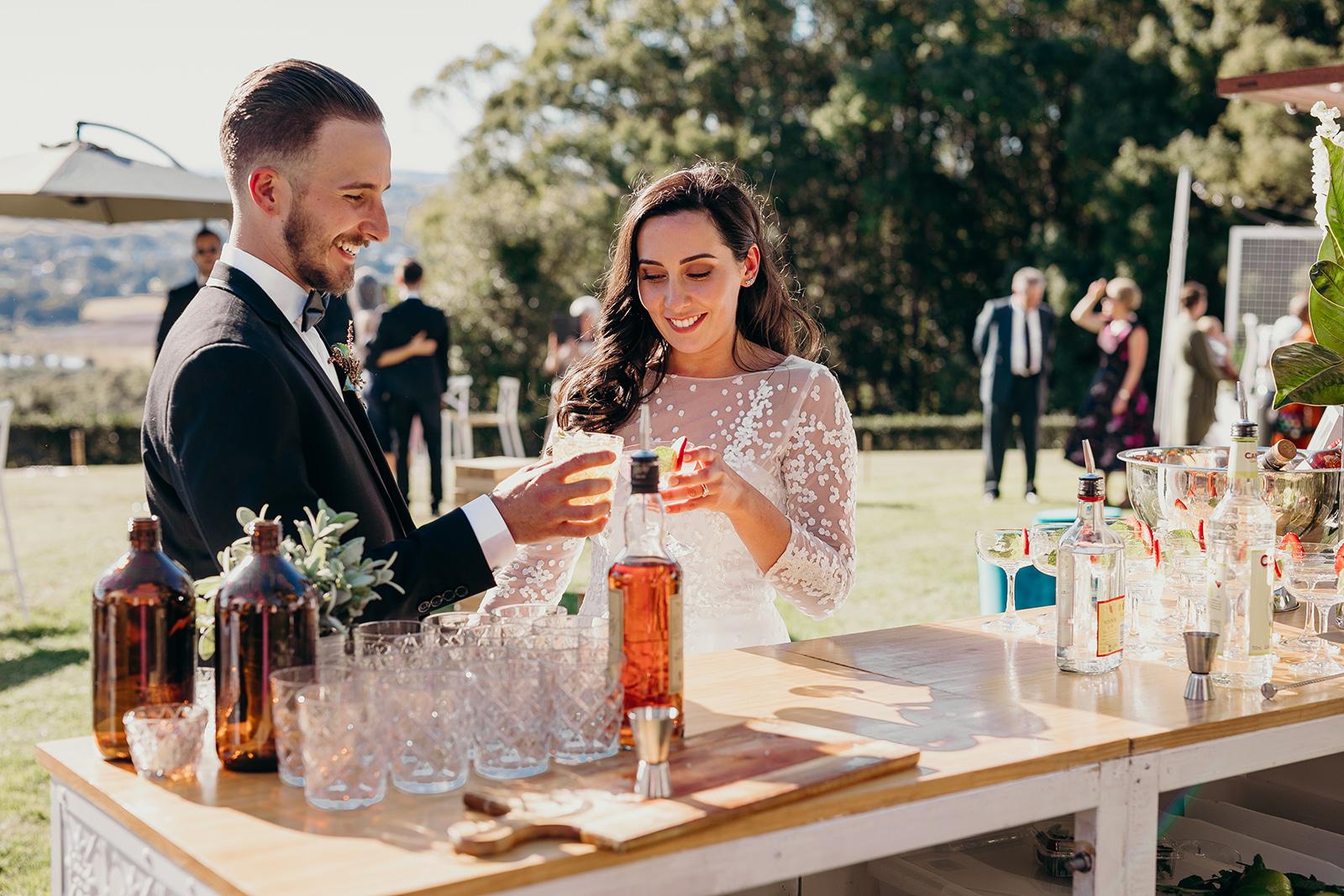 Gathering Events-Caravan Bar-Pop Up Bar-Mobile Bartenders-Byron Bay Wedding