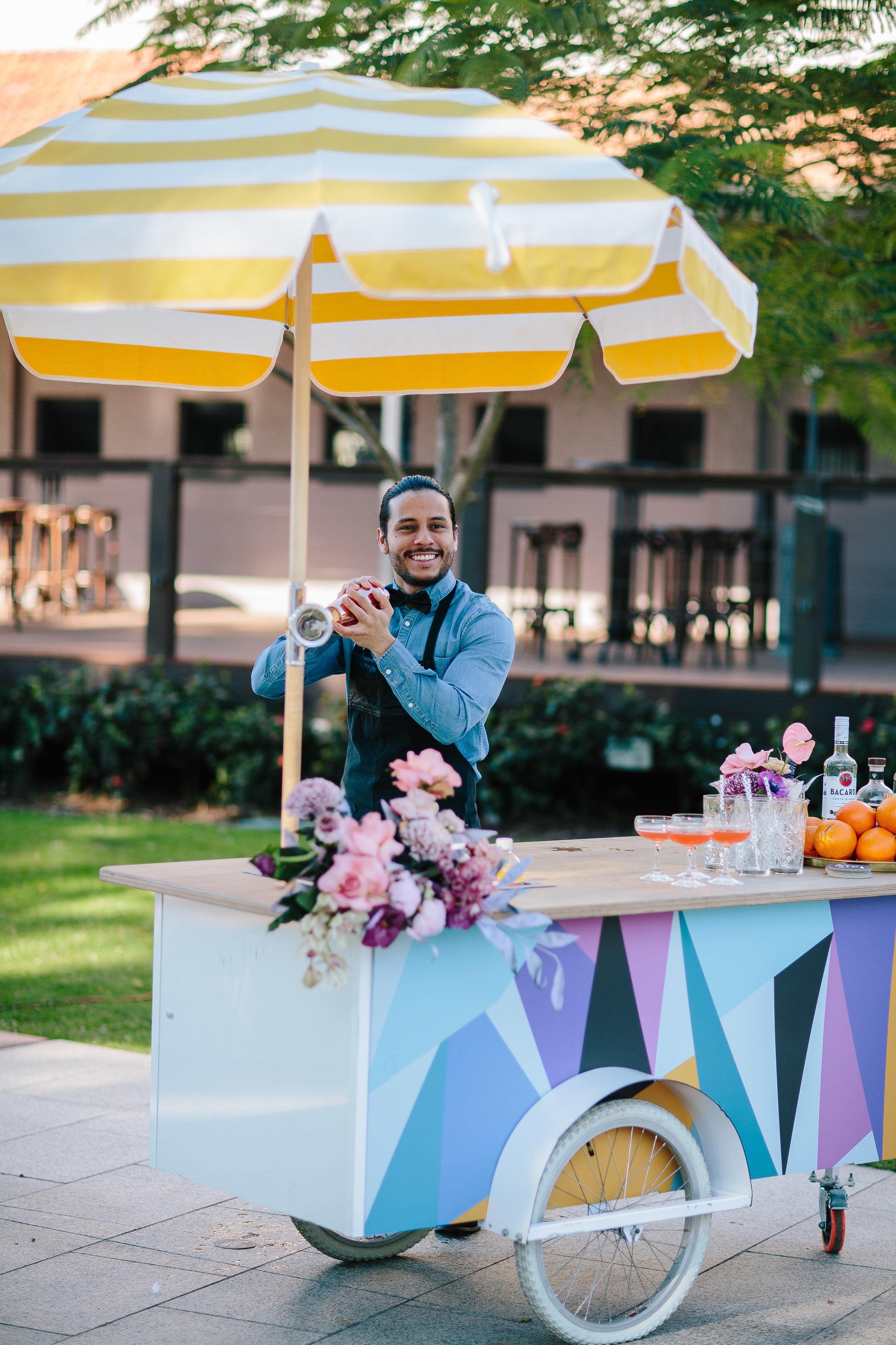 brisbane-bartender-byo-bar-cart-wedding-event