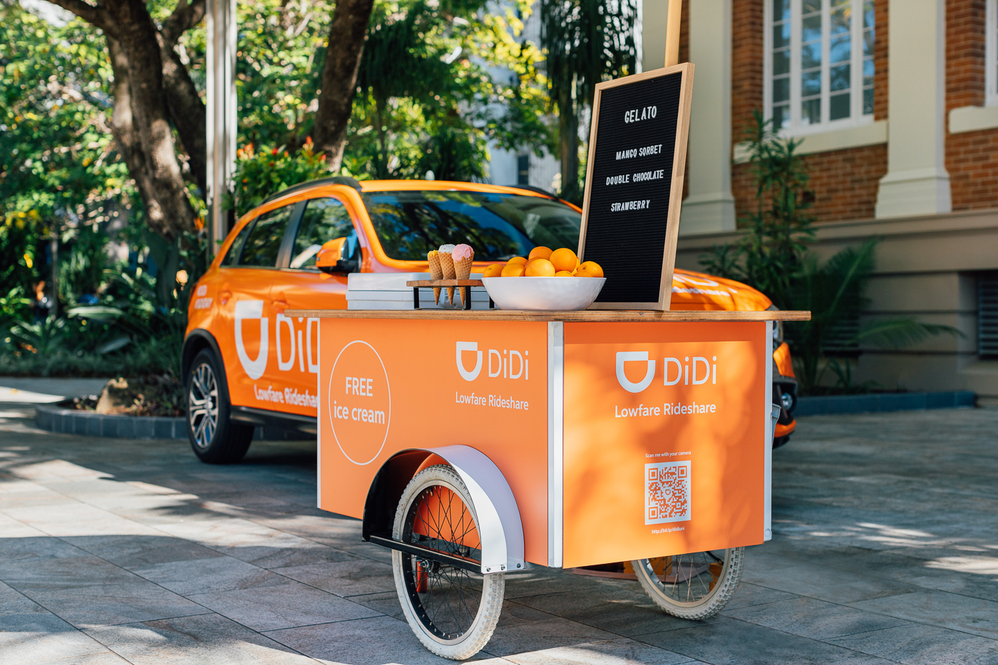 Cart branding - A great touch for marketing activation's, product launches and corporate functions!$260.00+GST Front Panel$480.00+GST Full Wrap