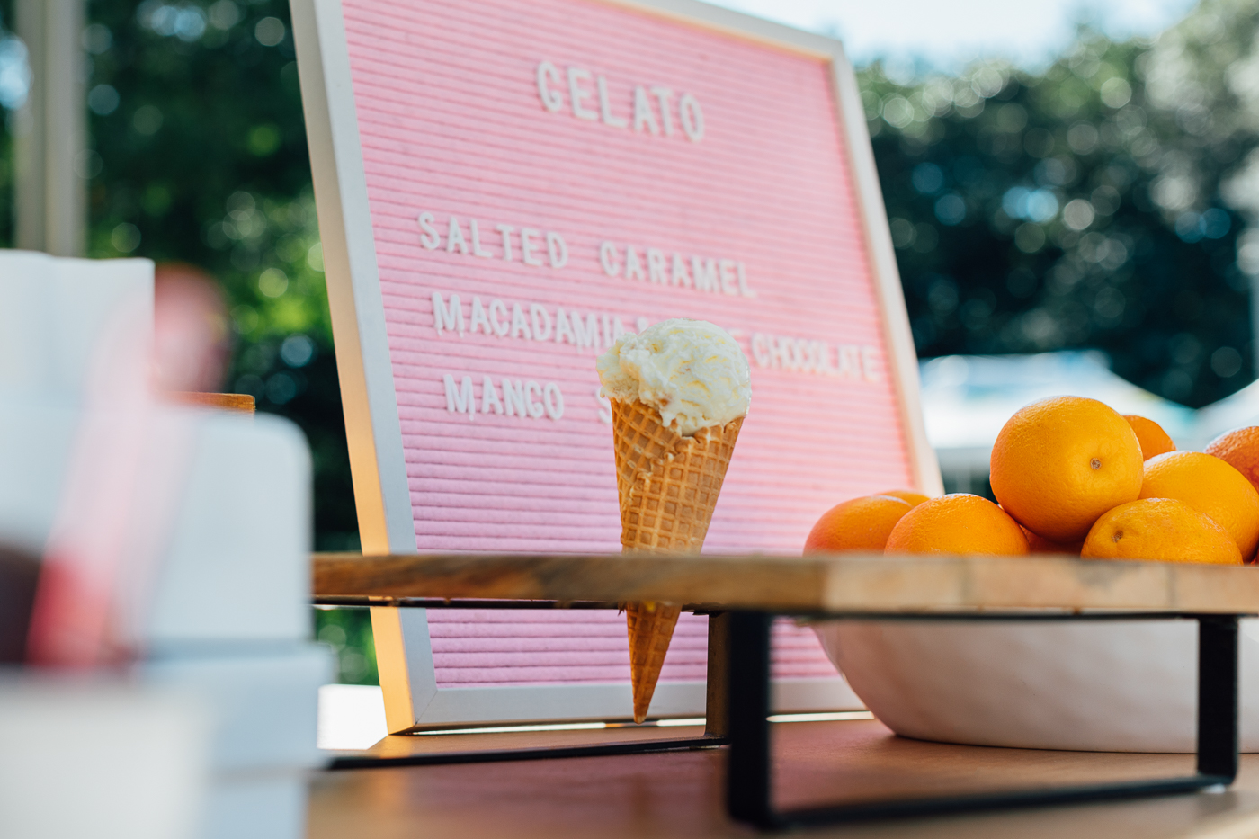 Gelato Cart - Ice Cream Cart - Mobile - Brisbane Event Hire