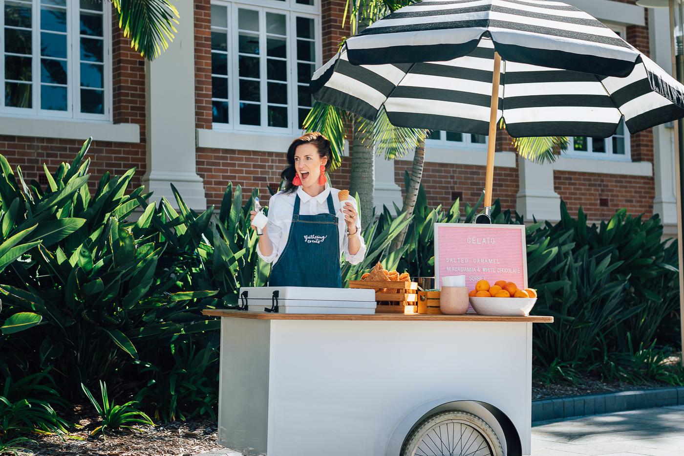 ice cream - hire - brisbane - events