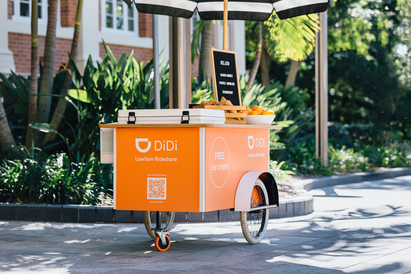 Custom Cart - Hire - Brisbane events