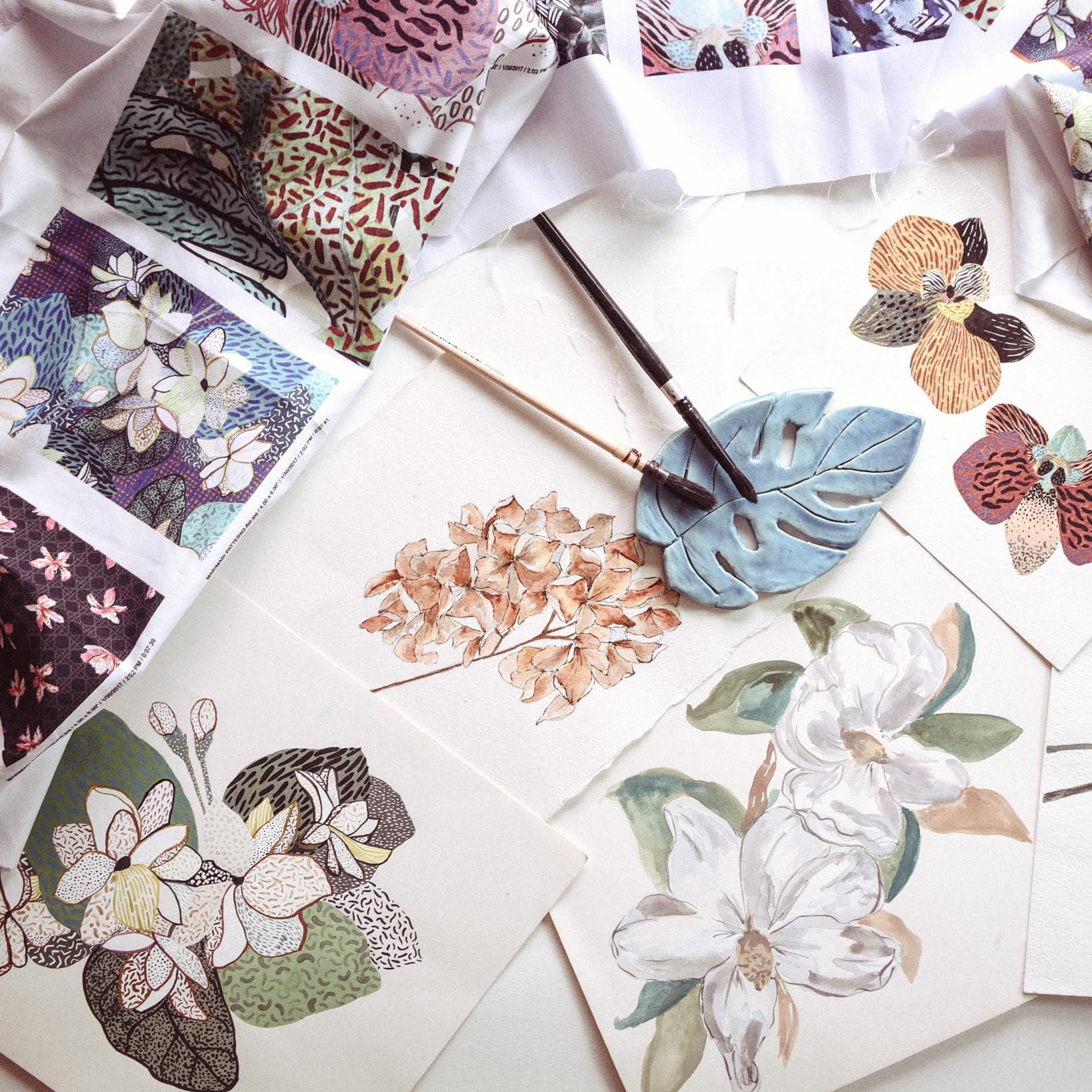 Alessandra Lanot, Surface Pattern Designer