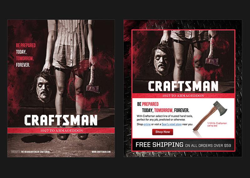 Craftsman Digital Ad Campaign