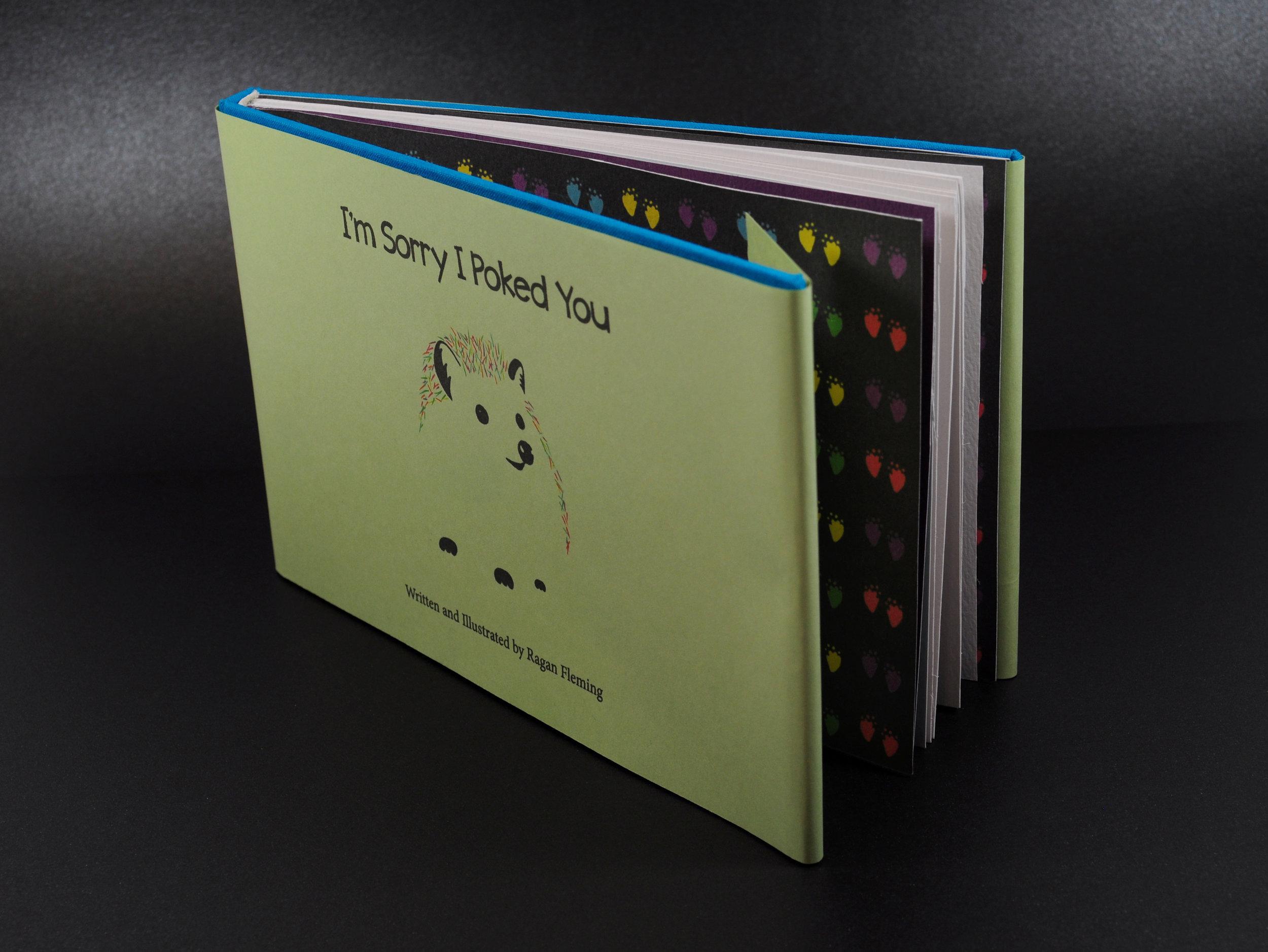 I'm Sorry I Poked You Book Design