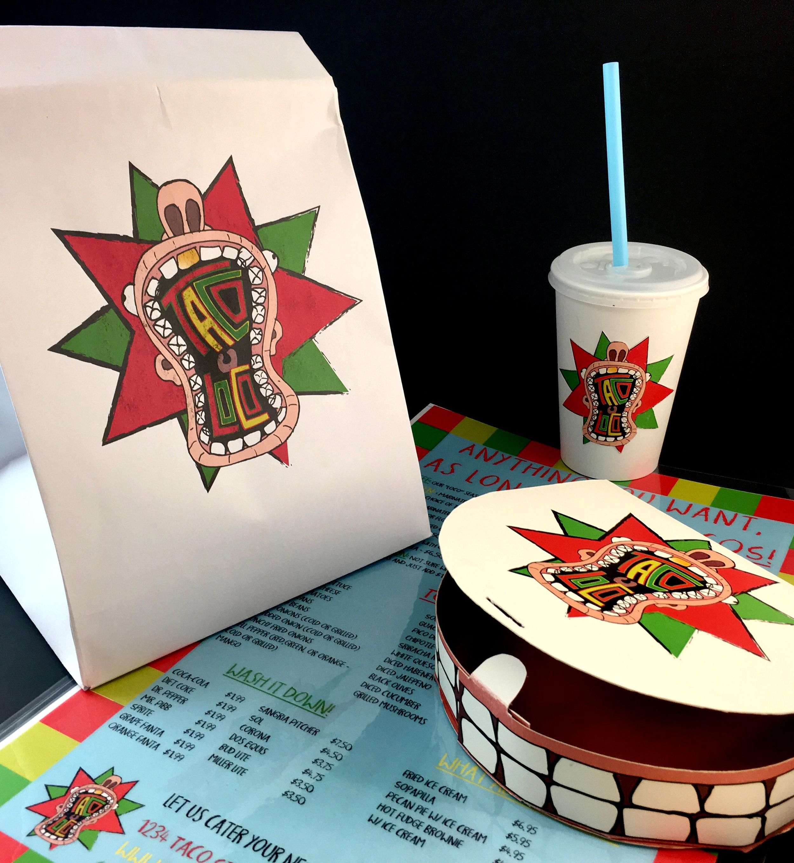 Taco Loco Packaging