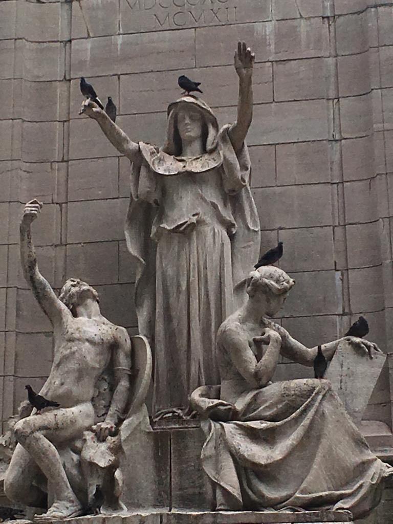 #BalanceforBetter at Columbus Circle NY ;-)