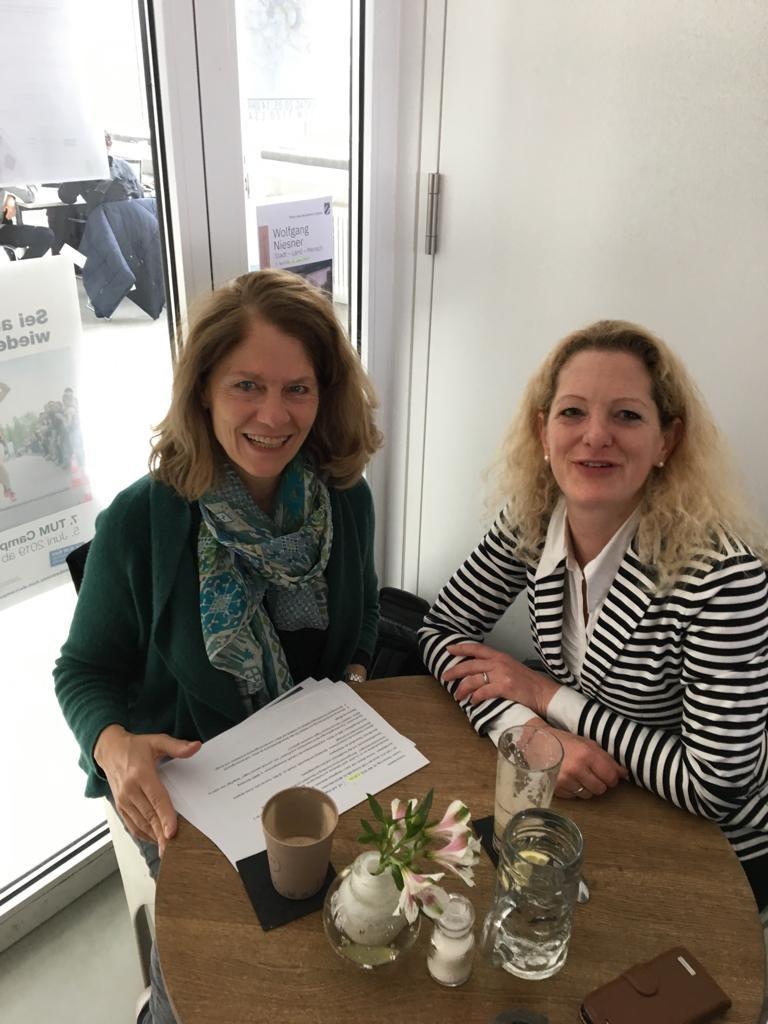 from the left Dr. Ing. Birgit Dietz-BIfadA and Yvonne Maisch-bsk bürounddesignhaus München GmbH.jpg
