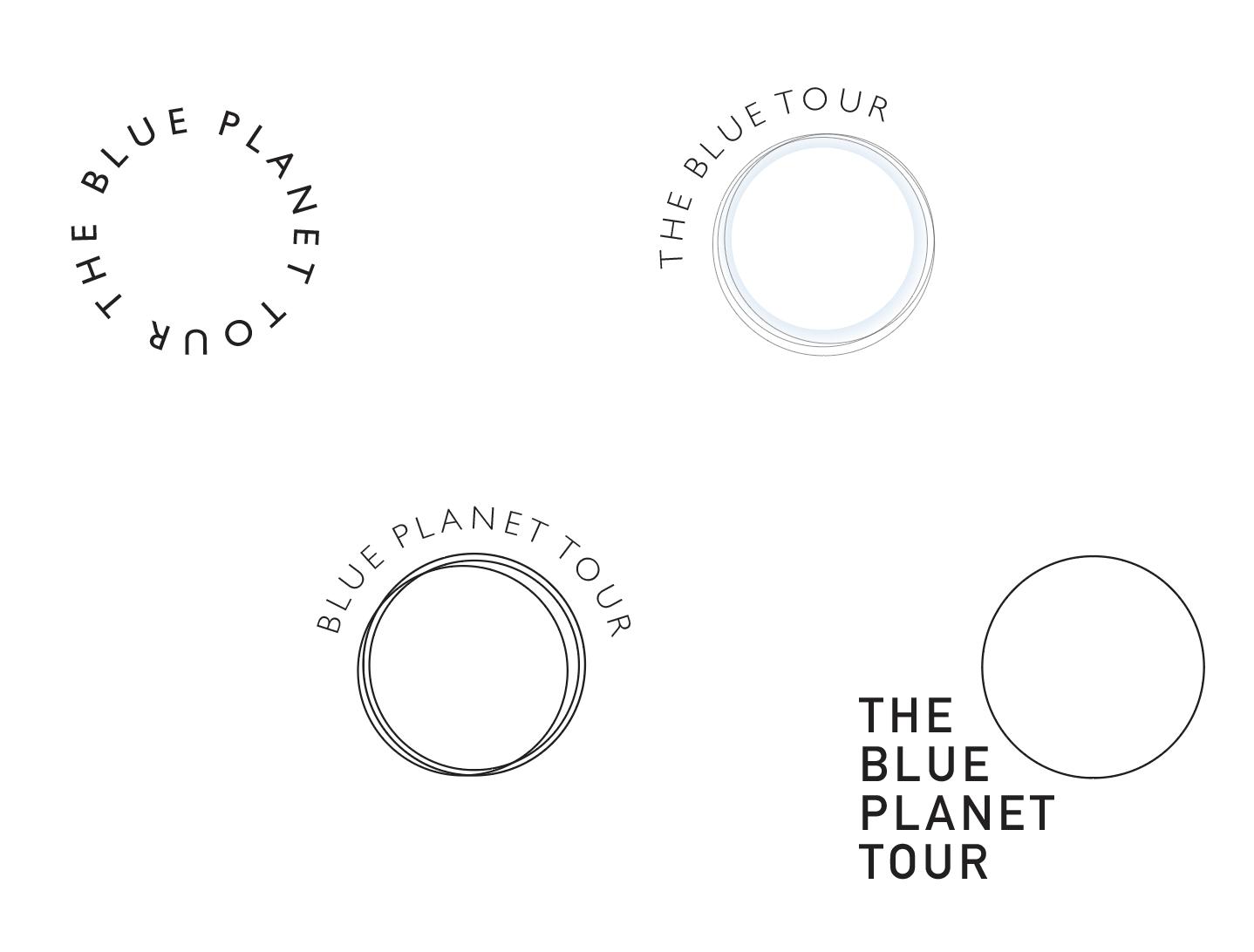 Circle motif logos