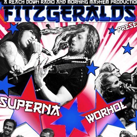 #Superna at Fitzgeralds @fitzhtx in #Houston 9/9/16 with #Warhol !! Sponsored by @reachdownradio and #morningmayhem -@worholtheband @captkikas @stevesharfa @fricog311 @lilfox5 @ashleyworholofficial @supernarocks