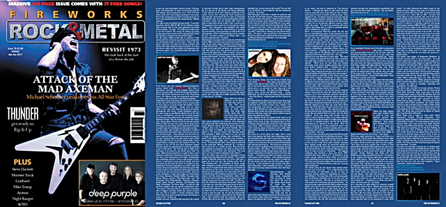 Superna 'ROCKS' ~ Fireworks Magazine UK Exclusive Interview - by Nicky Balderain for Fireworks Magazine UK