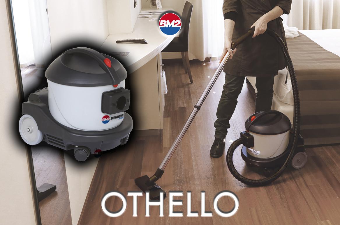 OTHELLO - ASPIRAPOLVERE PROFESSIONALE COMPATTO E SILENZIOSO