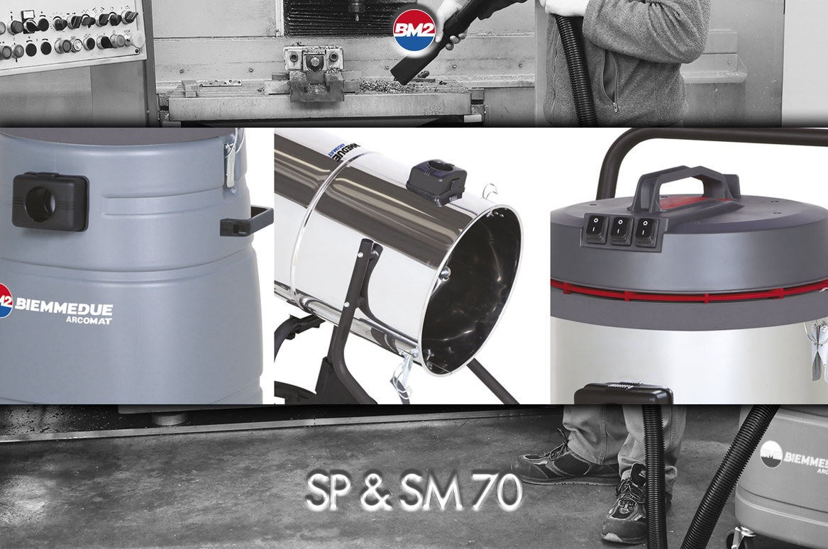 SP 70/SP 70 T & SM 70 / SM 70 B AC - COMPACT 2/3 MOTORS WET & DRY VACUUM CLEANERS