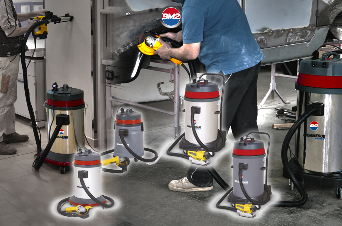 RC 40-45-80 WET&DRY VACUUM CLEANERS DESIGNED TO BE USED WITH POWER HAND TOOLS