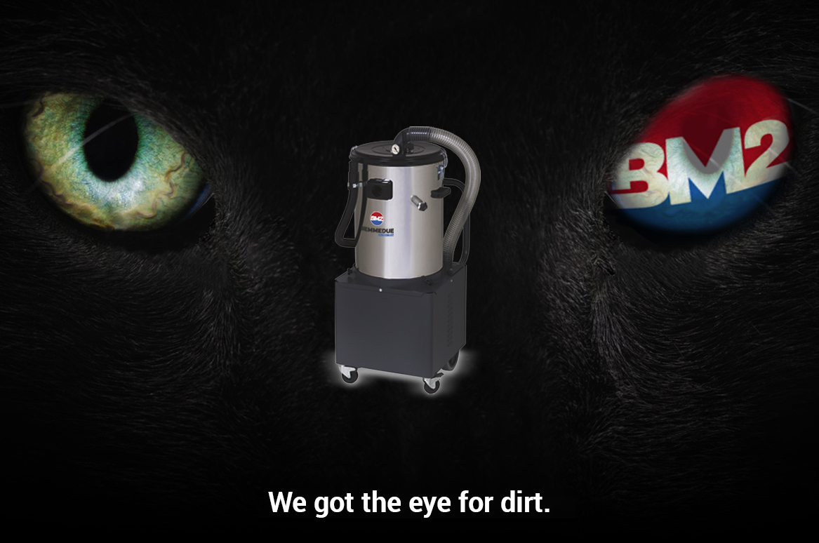QT & Q/BAT - COMPACT INDUSTRIAL VACUUM CLEANERS
