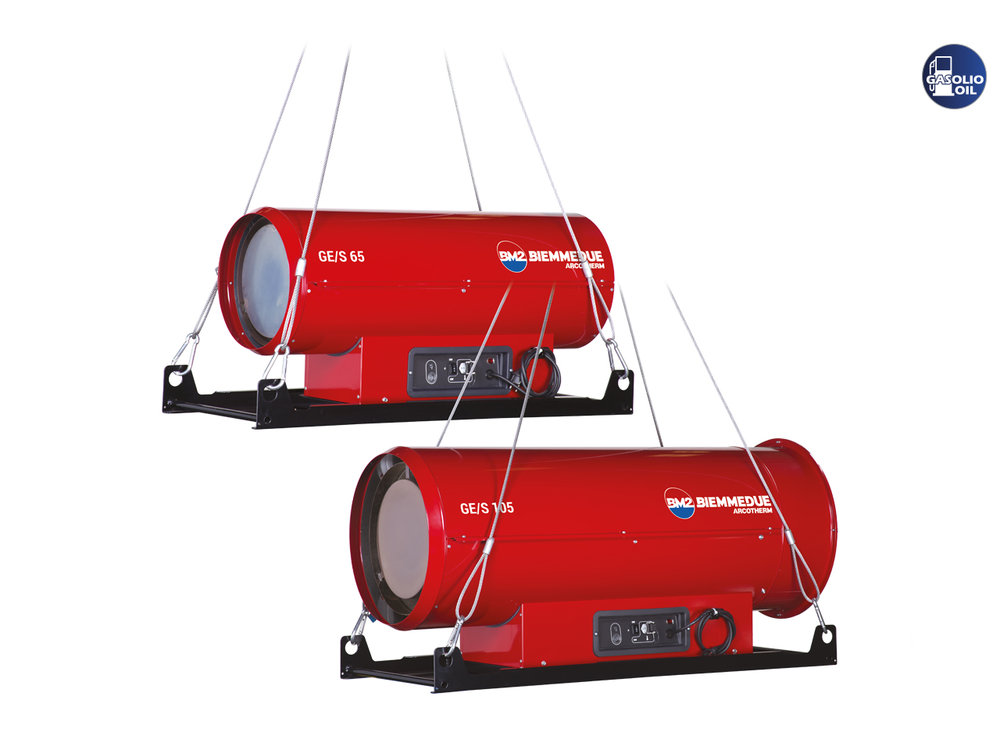 DIRECT COMBUSTION MOBILE SPACE HEATERS