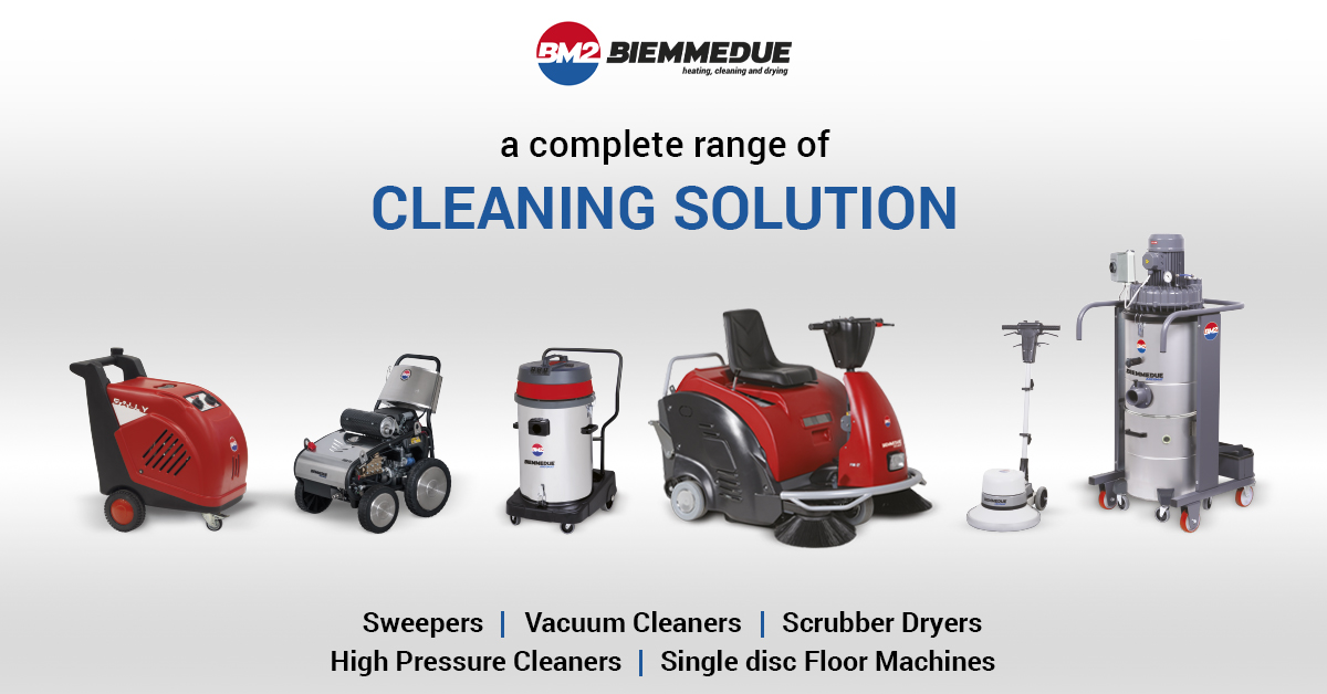 BIEMMEDUE PROFESSIONAL AND INDUSTRIAL CLEANING MACHINES