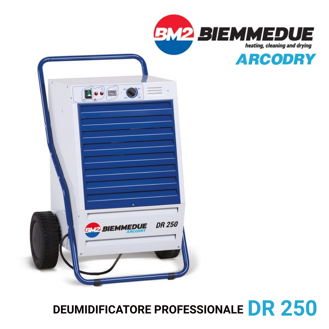 DR 250 - DEUMIDIFICATORE PROFESSIONALE