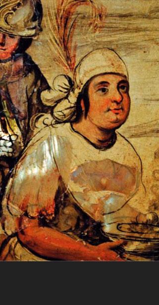 Fat Chief Xicomecóatl,1698, Miguel y Juan Gonzales, Museo de America, Madrid