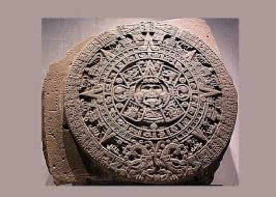 Calendrical stone Nahui Ollin, Anthropological Museum, Mexico City